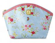 Kulturtasche Chinese Rose blue M