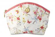 Kulturtasche Chinese Rose white M