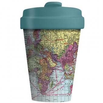 Coffee to go cup Around the World Bamboo