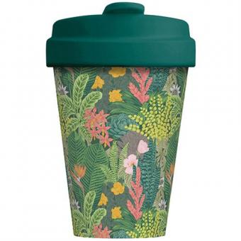 Kaffeebecher to go Bamboo Jungle Look