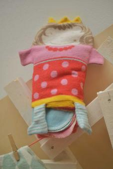 Baby-Decke in Puppe Prinzessin
