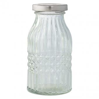 Greengate Glasflasche clear small