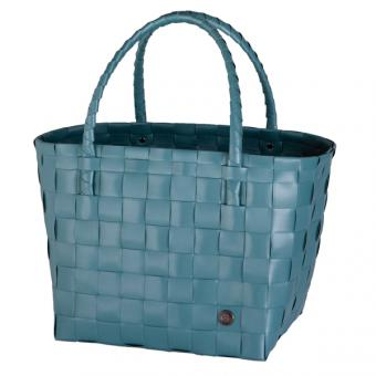 Shopper Paris teal blue