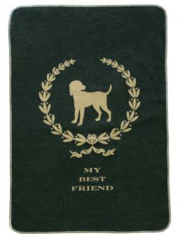 Hundedecke My Best Friend 100x140