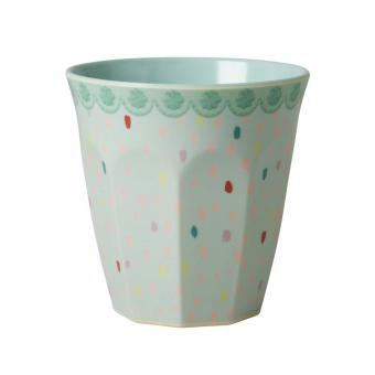 Melaminbecher Raindots