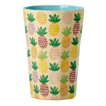 Melamin Becher Latte Cup Pineapple