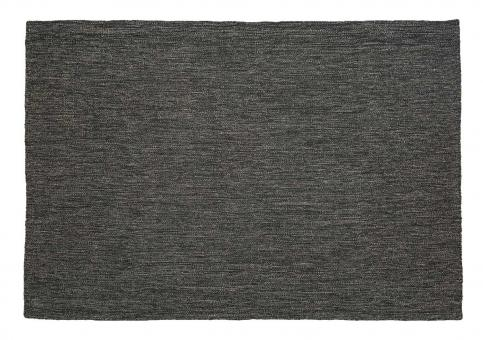 Wollteppich Norm dark grey 140x200