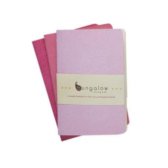 Notizhefte 10x15 3er-Set pink