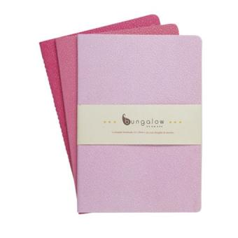 Notizhefte 14x20 3er-Set pink