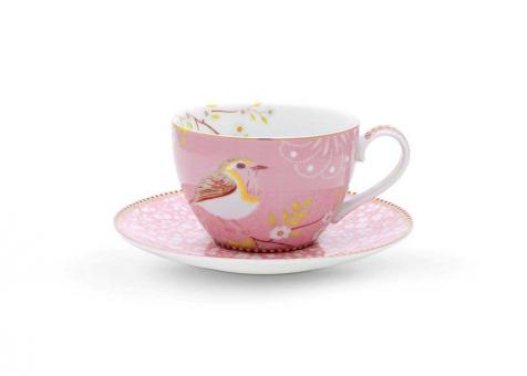 Pip Studio Cappuccino Tasse Early Bird pink