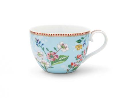 Pip Studio Tasse XL Hummingsbirds blue