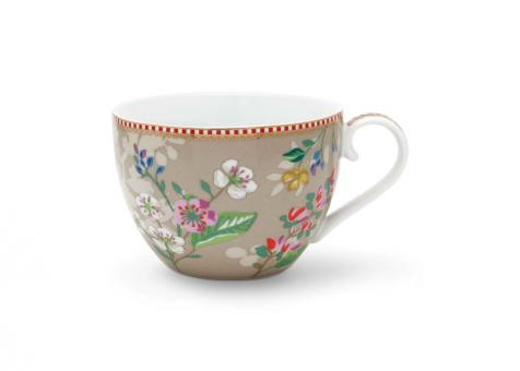 Pip Studio Tasse XL Hummingsbirds khaki