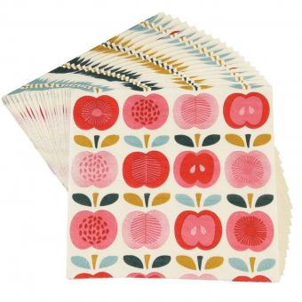 Papierservietten Vintage Apple