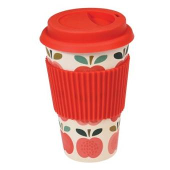 Latte Becher Bamboo Vintage Apple