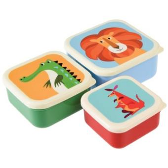 Dosen-Set Snack-Boxen Colourful Creatures