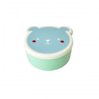 Dosen-Set Animal Faces blau 4er