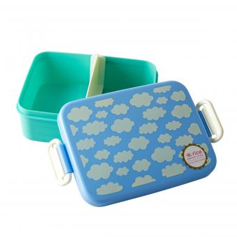 Rice Lunchbox Cloud Print blau
